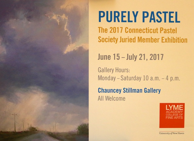 Purely Pastel Show at the Lyme Academy of Fine Arts