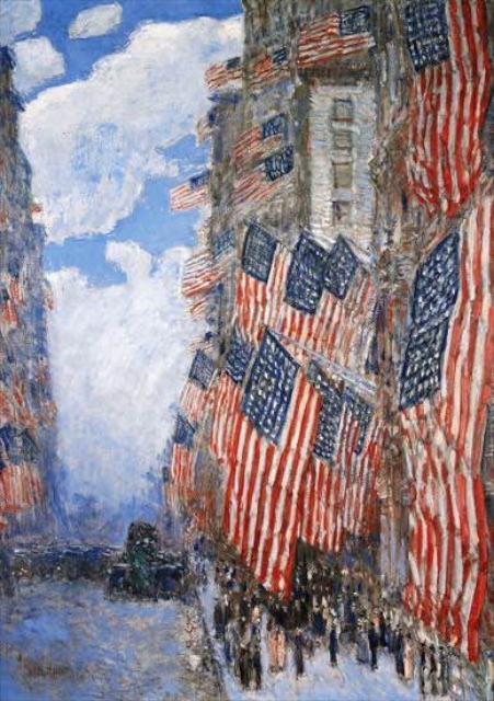 by Childe Hassam