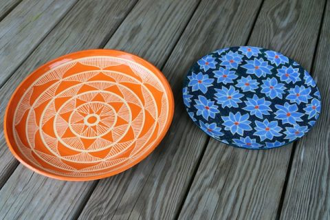 Two New Ceramics Pieces out of the Kiln