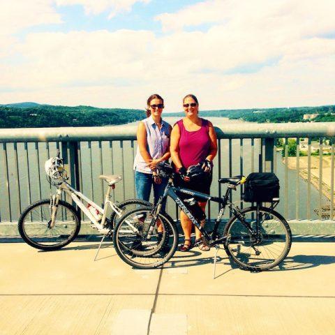 Duchess Rail Trail Bike Ride Over the Hudson