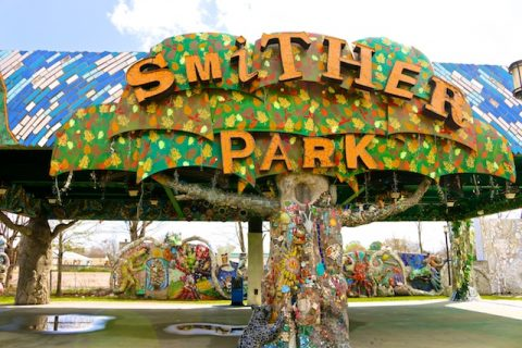The Amazing Mosaics at Smither Park