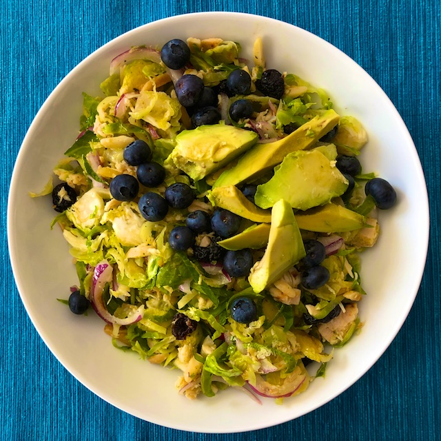 Tuna Salad Recipe with Shaved Brussels Sprouts