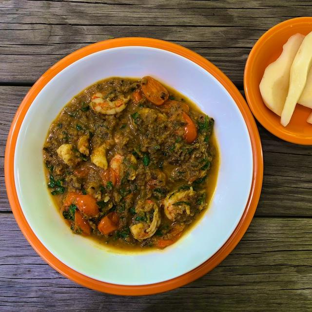 Shrimp and Eggplant Curry Recipe