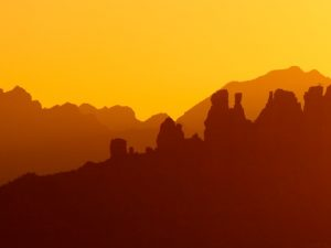Yellow Sky (Sedona Sunset Photos)