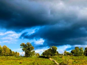 Dramatic October Clouds (Photos)
