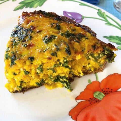 Butternut Squash and Kale Veggie Pie (Recipe)