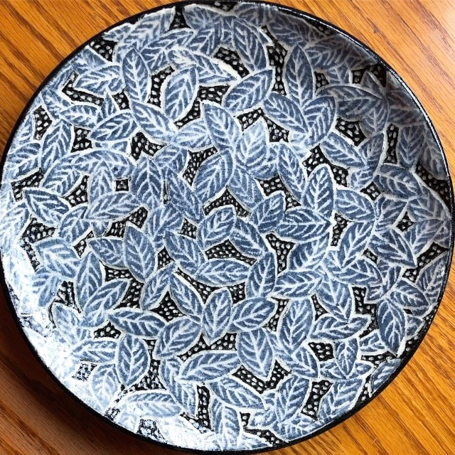 New Sgraffito Pottery Out of the Kiln