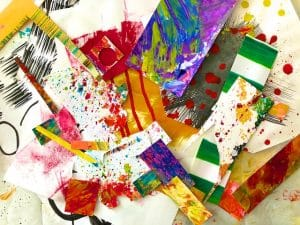 Collage Elements (Mark Making #4)