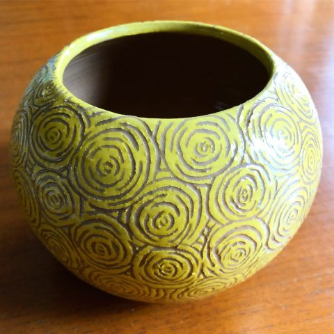 Polly Castor Sgraffito Pottery