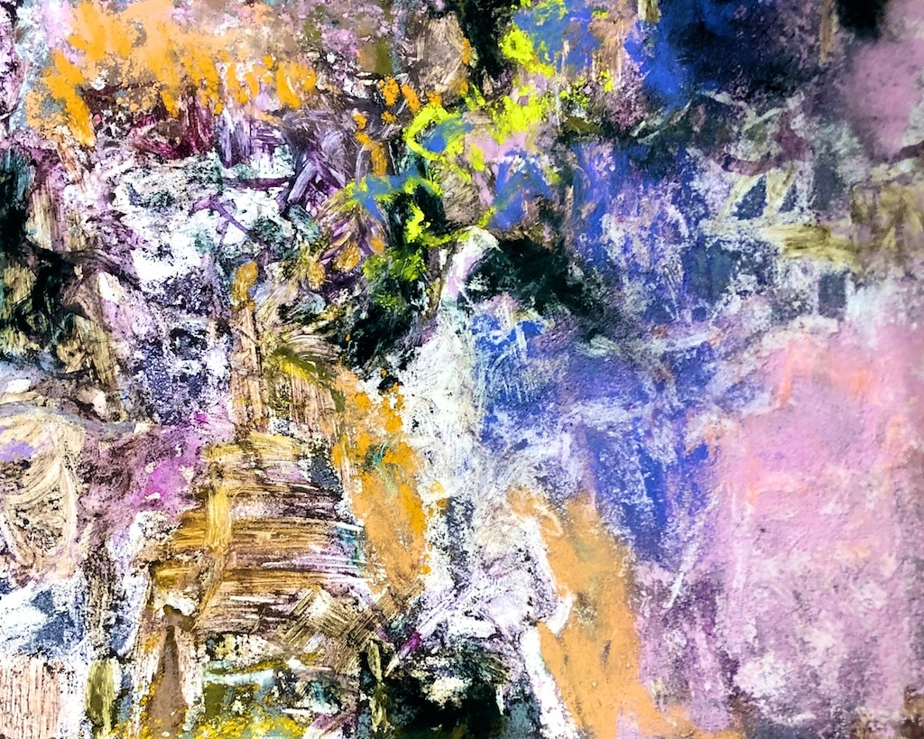Abstract pastel workshops