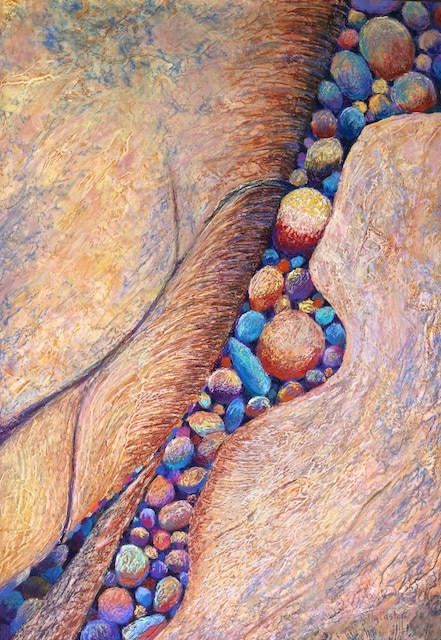 Aggregate (pastel) by Polly Castor