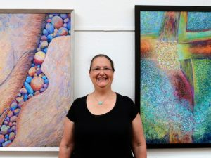 I'm in the National Juried Women's Show at the Slater Museum