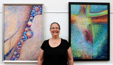 Polly Castor in National Juried Women's Exhibition