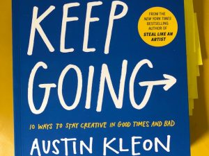 Keep Going (Book Review with Quotes)