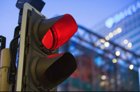 Red Light Green Light poem by Polly Castor