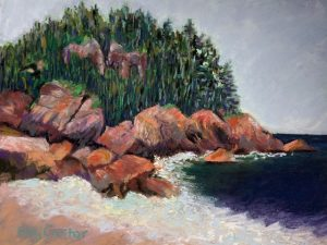 Day 12: Three Nova Scotia Plein Air Paintings