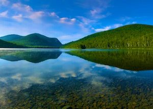 Day 32: South Branch Pond (Reflections and Loons), Baxter State Park