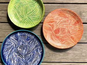 Three New Platters out of the Kiln