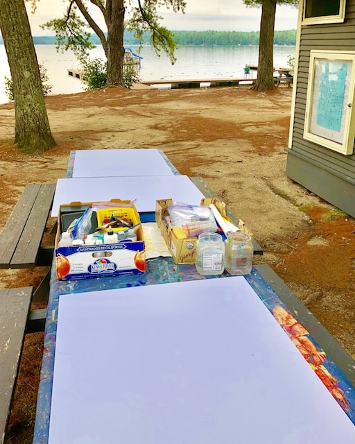 Long Lake Artist-in-residency