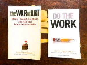 The War of Art and Do the Work (Book Reviews with Quotes)