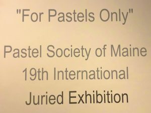 Maine Pastel Exhibition (Photos)