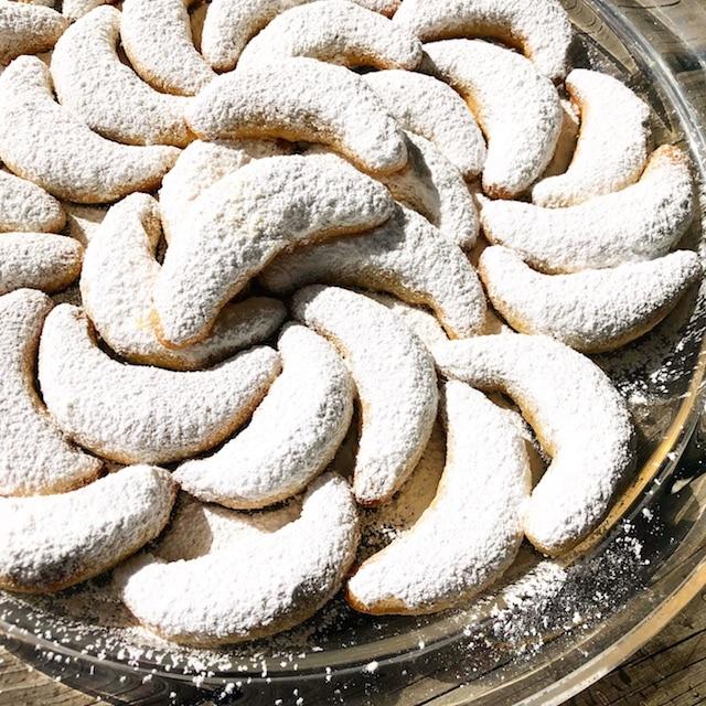 Almond Crescent Cookie Recipe, Austrian National Cookie