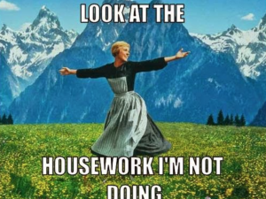 Priorities: Housework or Art (aka How I Do All I DO)