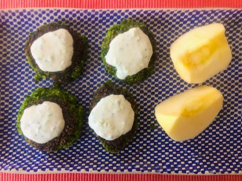 Spinach Falafel recipe