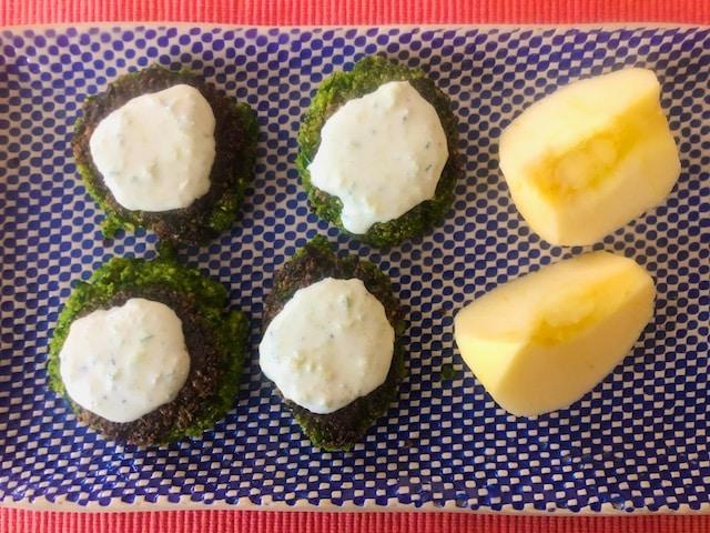 Spinach Falafel recipe