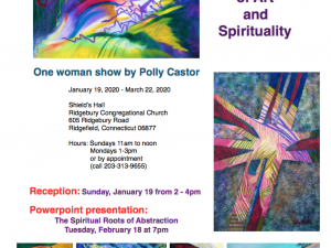 Announcing my New One Woman Show: The Fusion of Art and Spirituality