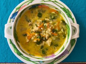 Lemony Greek Soup (Recipe)