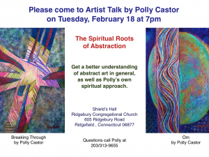 I Gave My Talk on the Spiritual Roots of Abstraction
