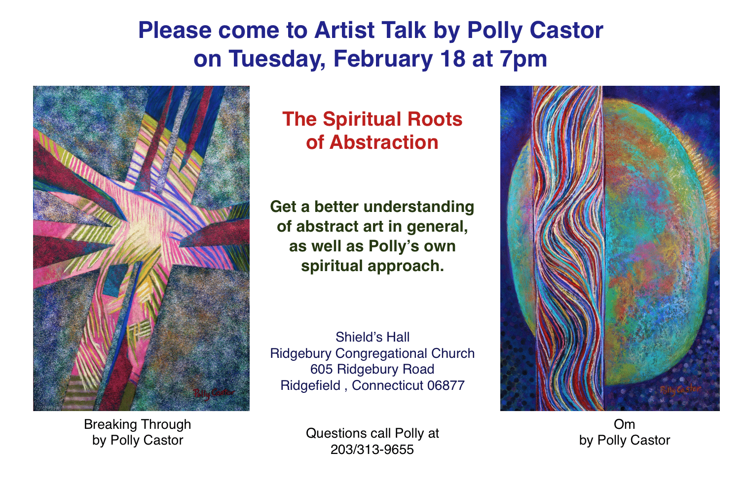 Spiritual roots of abstraction