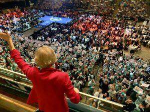 Our Children Campaigning for Elizabeth Warren (Photos)