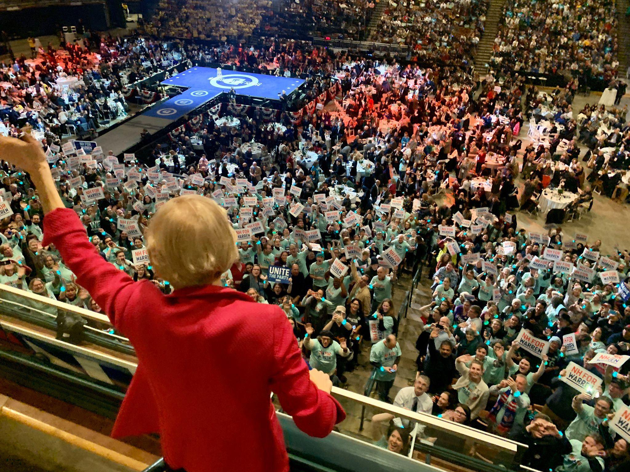 Campaigning for Elizabeth Warren