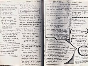 Recent Bible Lesson Journal Study Pages
