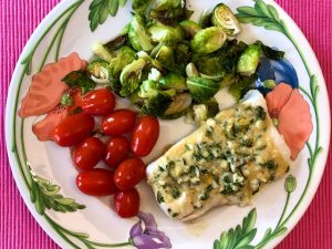 Lemon Dijon Halibut (Recipe)