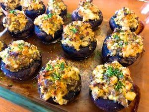 Lobster Stuffed Mushrooms (Recipe)