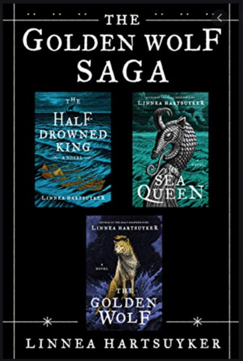 Golden Wolf Saga book review