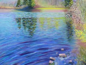Two New Pastel Paintings of the Spring Landscape