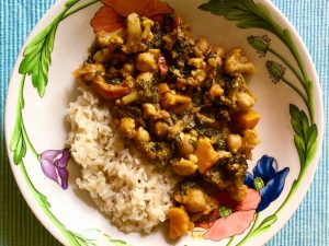 Indian Style Vegetable Curry (Recipe)
