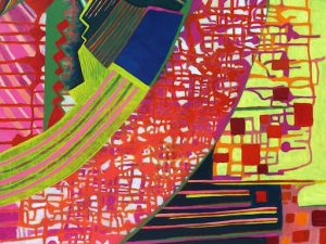 Motherboard (New Abstract Painting)
