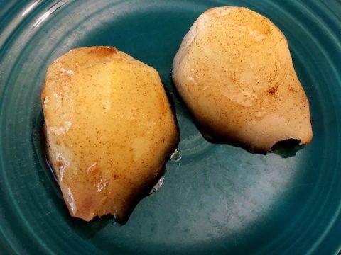 Poached pear recipe