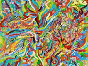 Profusion (New Abstract Oil Painting)