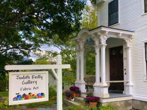 Gallery and Studio Visit with Judith Reilly, Fabric Artist