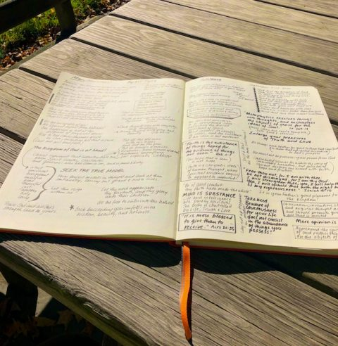 Pages in Bible Lesson Journal