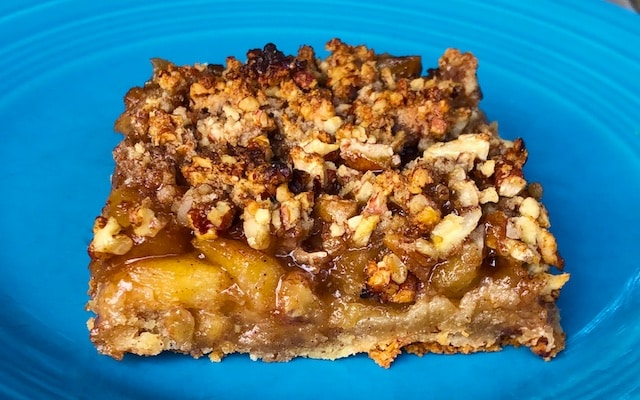 Apple Maple Crumble Bar Recipe