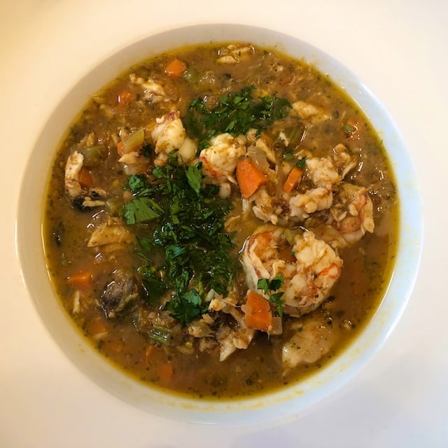 Savory Seafood Soup recipe