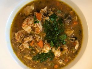 Savory Seafood Soup (Recipe)