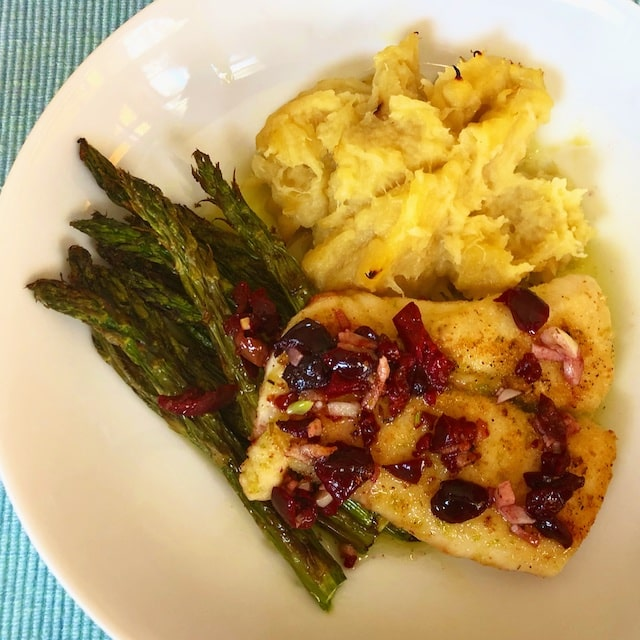 Lime crusted Halibut or Cod Recipe